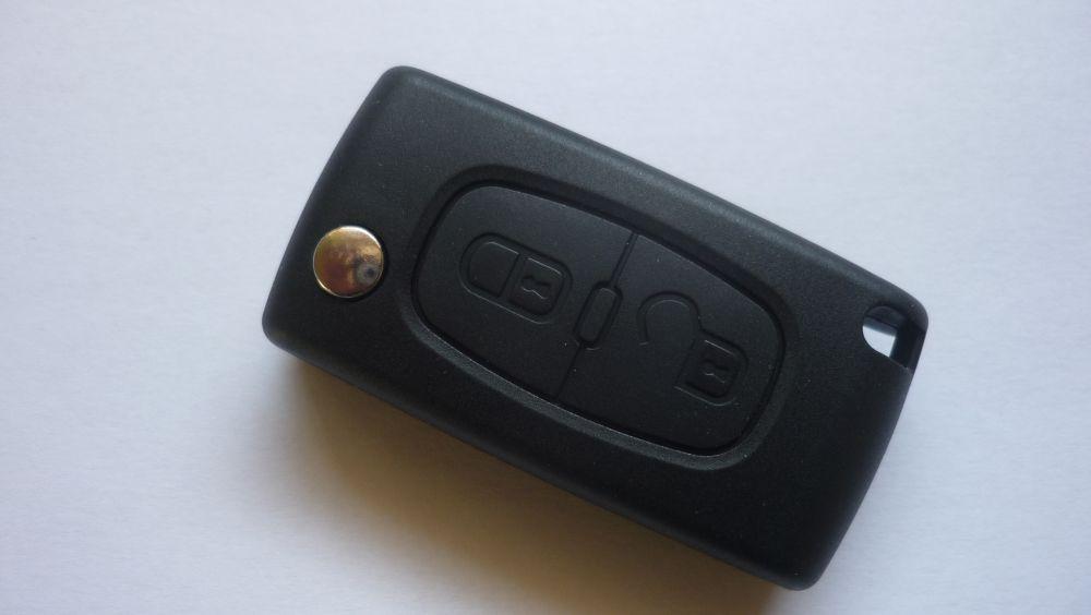 Obal klíč ptw Peugeot 207 307 308 - 2 tlačítka - kvalitní !!!