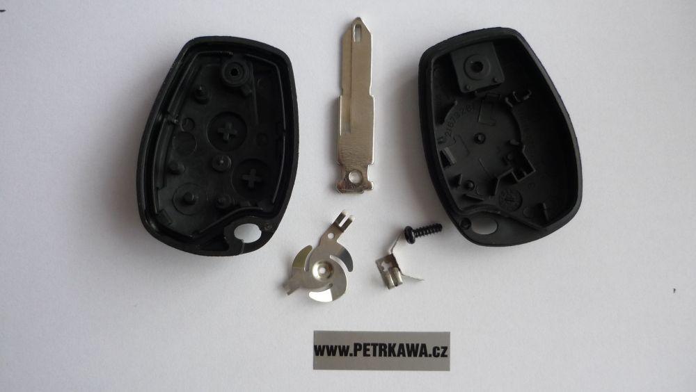 Obal klíče klíč PTW Renault CLIO MODUS THALIA