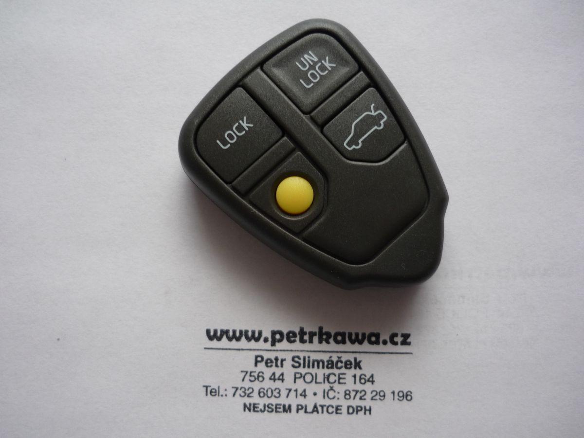 Obal klíče PTW VOLVO C30 V40 V50 C70 V70 4 tlač